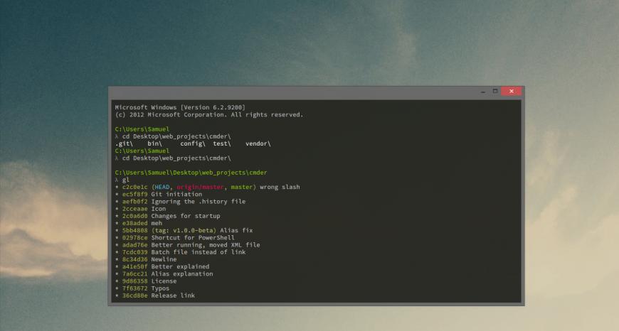 Замена стандартного терминала в PhpStorm на cmder (ConEmu)