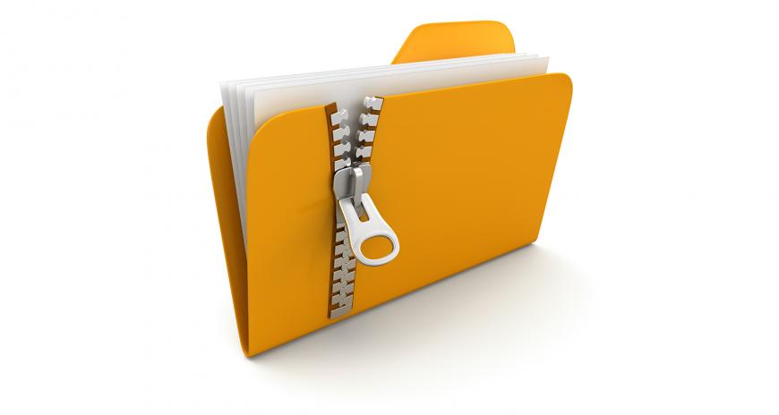 Архивация полностью папок через консоль (терминал)